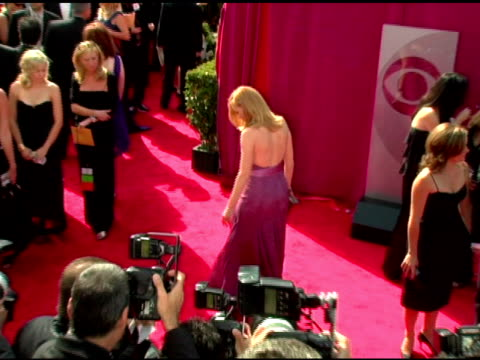 marg helgenberger at the 2005 emmy awards at the shrine auditorium in los angeles, california on september 18, 2005. - marg helgenberger stock videos & royalty-free footage