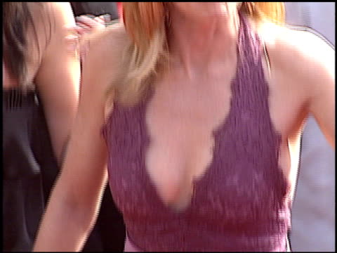 marg helgenberger at the 2005 emmy awards entrance at the shrine auditorium in los angeles, california on september 18, 2005. - marg helgenberger stock videos & royalty-free footage