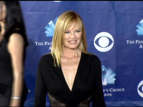 marg helgenberger at the 2006 people's choice awards arrivals at the shrine auditorium in los angeles, california on january 10, 2006. - marg helgenberger stock videos & royalty-free footage
