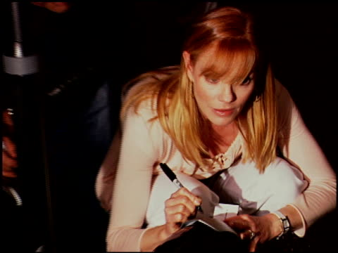 marg helgenberger at the 'an inconvenient truth' premiere at director's guilld of america in hollywood, california on may 16, 2006. - marg helgenberger stock videos & royalty-free footage