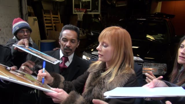 marg helgenberger at the 'live! with kelly' studio in new york on 1/18/2011 - marg helgenberger stock videos & royalty-free footage