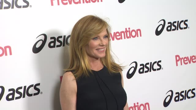 marg helgenberger at the prevention magazine presents the 2nd annual prevention honors hollywood heroes event at west hollywood ca. - marg helgenberger stock videos & royalty-free footage
