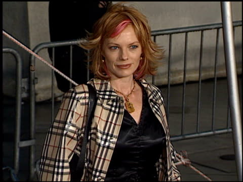 marg helgenberger at the tv guide awards at the shrine auditorium in los angeles, california on february 24, 2001. - shrine auditorium video stock e b–roll