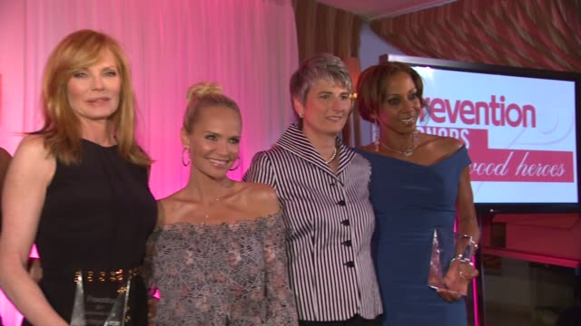 marg helgenberger, kristin chenoweth, diane salvatore, holly robinson peete at the prevention magazine presents the 2nd annual prevention honors... - marg helgenberger stock videos & royalty-free footage