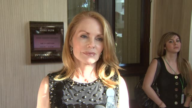 marg helgenberger on the event, the canadian seal hunt at the 23rd genesis awards at los angeles ca. - marg helgenberger stock videos & royalty-free footage