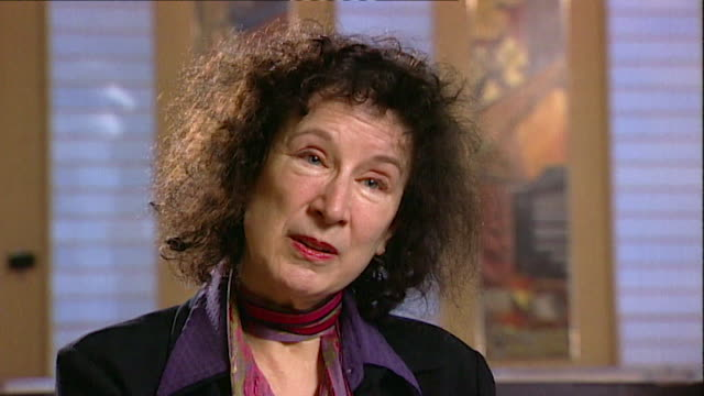 margaret atwood on not finding writers interesting and that their work is more important core number andn109t aeyz198w - letteratura video stock e b–roll