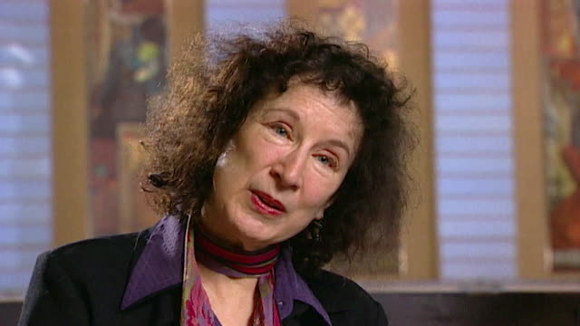 margaret atwood on vicious 'personal attacks' whenever she releases a new novel core number andn109t aeyz198w - interview stock videos & royalty-free footage