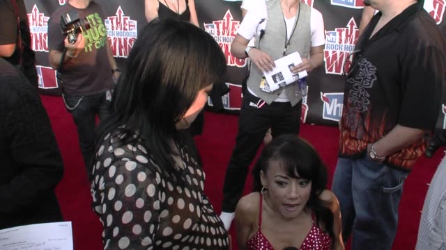 Margaret Cho The Who Luna at the VH1 Rock Honors at Los Angeles CA