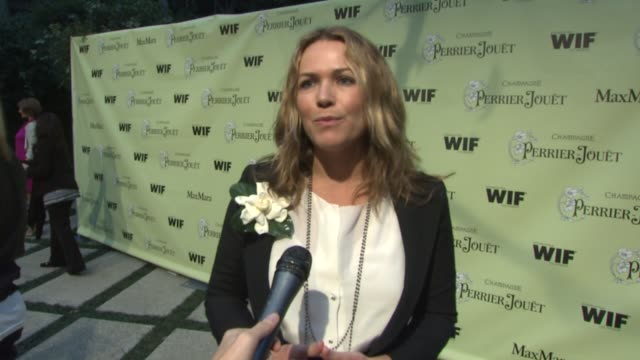 margaret hyde, nominated documentary filmmaker, on the event, her film at the 2nd annual women in film pre-oscar cocktail party at los angeles ca. - ドキュメンタリー映画点の映像素材/bロール