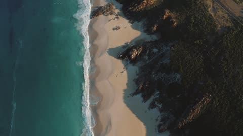 vídeos y material grabado en eventos de stock de margaret river western australia - coastline