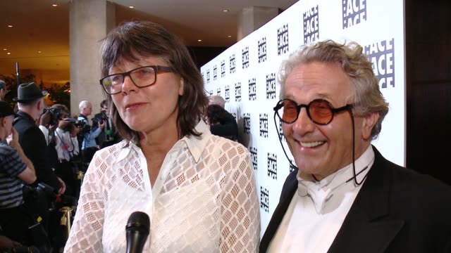 INTERVIEW Margaret Sixel and George Miller on Mad Max Margaret on being nominated tonight On working together as a married couple at 66th Annual ACE...