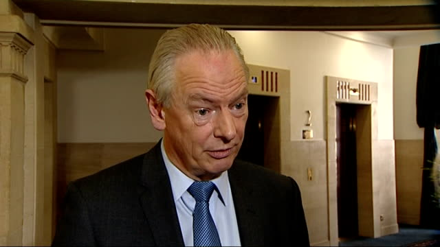 Details of funeral service published / Cost questioned ENGLAND London INT Francis Maude MP interview SOT On the cost the state has always born the...