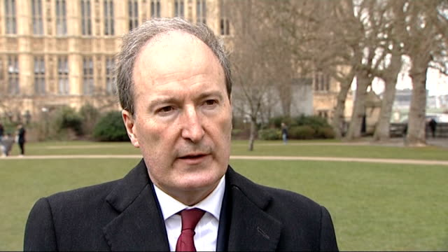 tributes charles moore england london westminster ext charles moore interview sot reacts to the death of baroness thatcher / talks of her death /... - biographie stock-videos und b-roll-filmmaterial