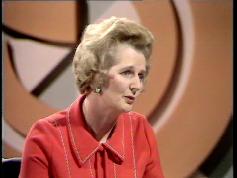 margaret thatcher minister for education states - margaret thatcher stock-videos und b-roll-filmmaterial
