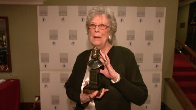 Margaret Tyzack at the Laurence Olivier Awards 2009 at London