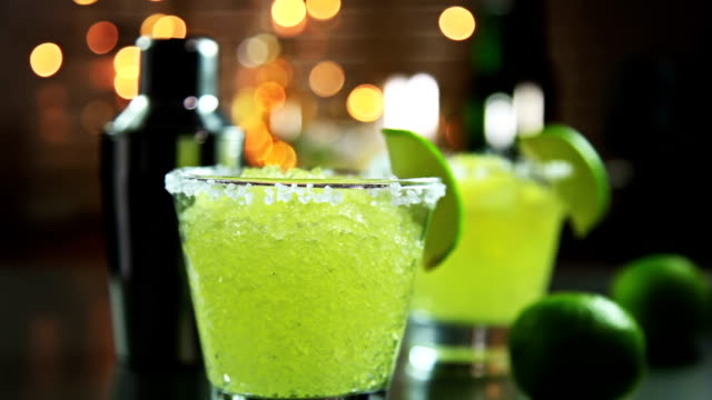 margarita - crushed ice stock videos & royalty-free footage