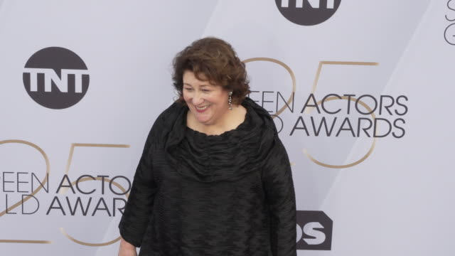 margo martindale at the 25th annual screen actors guild awards at the shrine auditorium on january 27 2019 in los angeles california - screen actors guild awards stock videos & royalty-free footage