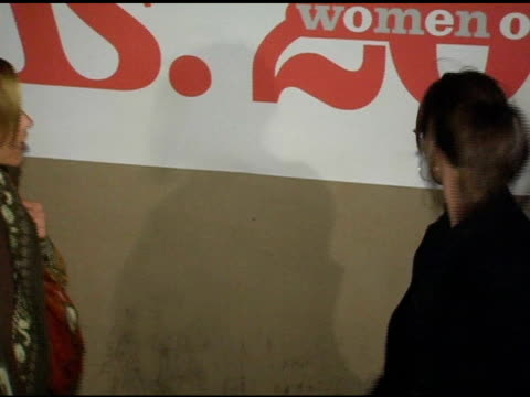 stockvideo's en b-roll-footage met maria bello and mary stuart masterson at the ms magazine 2004 women of the year arrivals at spider club in los angeles, california on november 29,... - maria bello