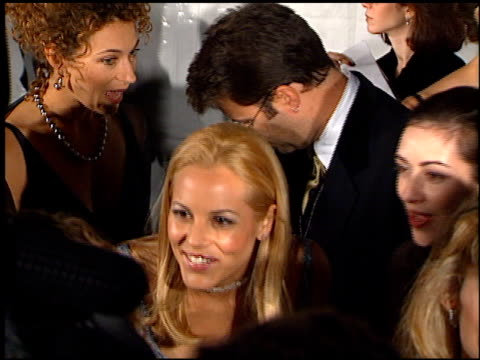 maria bello at the 1997 fire and ice ball on december 3, 1997. - maria bello stock videos & royalty-free footage