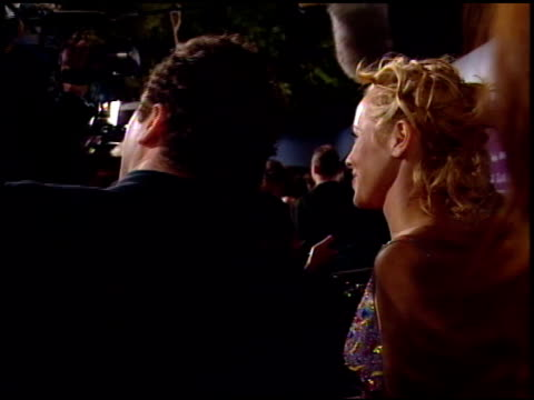 stockvideo's en b-roll-footage met maria bello at the 1998 fire and ice ball at universal studios in universal city, california on december 9, 1998. - maria bello
