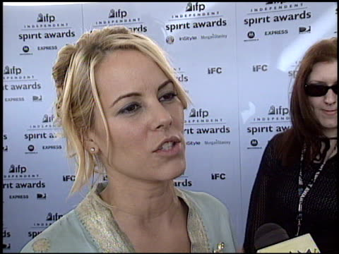 maria bello at the 2003 ifp independent spirit awards on march 22, 2003. - maria bello stock videos & royalty-free footage