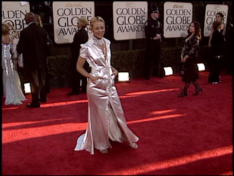 maria bello at the 2004 golden globe awards at the beverly hilton in beverly hills, california on january 25, 2004. - maria bello stock videos & royalty-free footage
