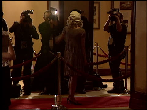 stockvideo's en b-roll-footage met maria bello at the 2004 writers guild awards at the century plaza hotel in century city, california on february 21, 2004. - century plaza