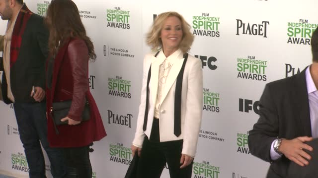 maria bello at the 2014 film independent spirit awards - arrivals on march 01, 2014 in santa monica, california. - maria bello stock videos & royalty-free footage