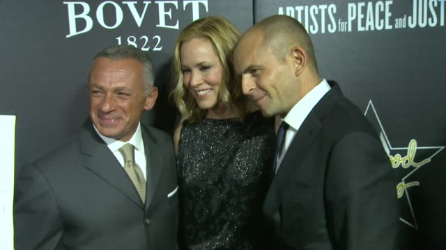 maria bello at the 7th annual hollywood domino & bovet 1822 gala benefiting artists for peace and justice at sunset tower hotel on february 27, 2014... - maria bello stock videos & royalty-free footage