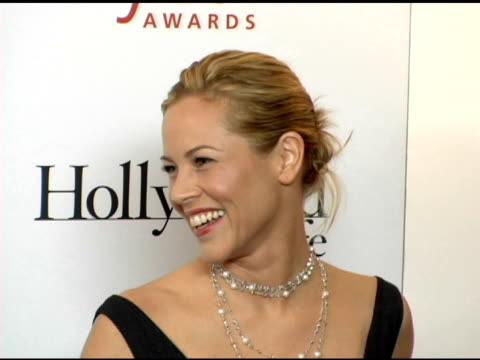 stockvideo's en b-roll-footage met maria bello at the hollywood life magazine's breakthrough of the year awards at the henry fonda theatre in hollywood, california on december 4, 2005. - maria bello