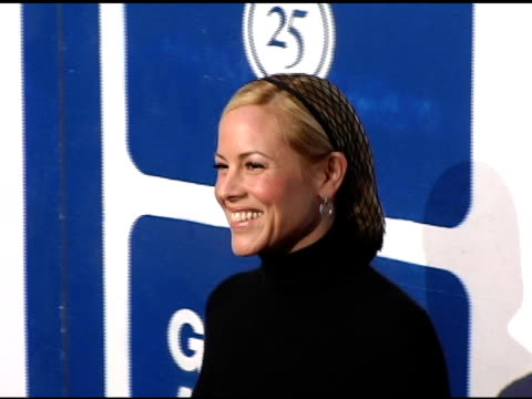 maria bello at the ifp's 15th annual gotham awards arrivals at pier 60 at chelsea piers in new york, new york on november 30, 2005. - independent feature project video stock e b–roll