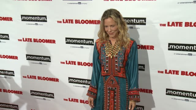 maria bello at 'the late bloomer' premiere in los angeles, ca 10/3/16 - maria bello stock videos & royalty-free footage
