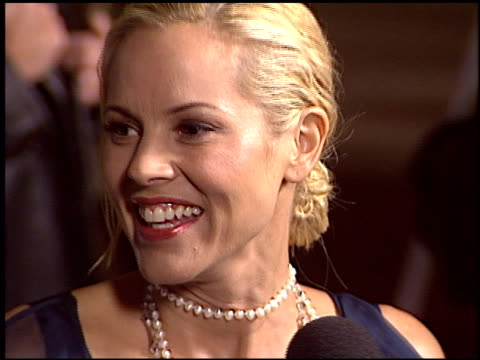 maria bello at the los angeles premiere of 'the cooler' at the egyptian theatre in hollywood, california on november 24, 2003. - maria bello stock videos & royalty-free footage