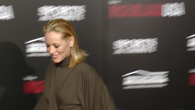 """stockvideo's en b-roll-footage met maria bello at the """"mcfarland, usa"""" los angeles premiere at the el capitan theatre on february 09, 2015 in hollywood, california. - maria bello"""