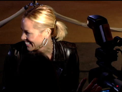 stockvideo's en b-roll-footage met maria bello at the opening celebration of gregory colbert's 'ashes and snow' exhibition arrivals at the nomadic museum in santa monica, california on... - maria bello