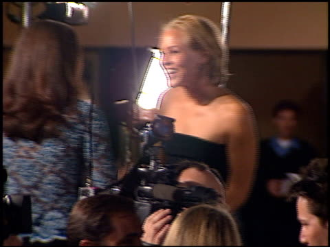 stockvideo's en b-roll-footage met maria bello at the premiere of 'the matrix' at the bruin theatre in westwood, california on march 24, 1999. - maria bello