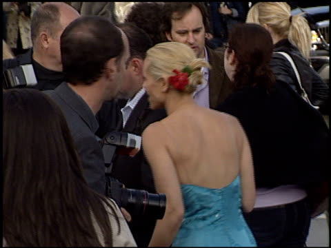 stockvideo's en b-roll-footage met maria bello at the premiere of 'the matrix reloaded' on may 7, 2003. - maria bello