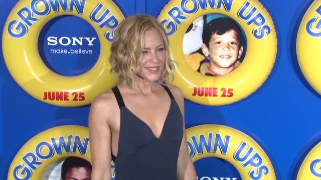 maria bello at the special screening of 'grown ups' at new york ny. - maria bello stock videos & royalty-free footage