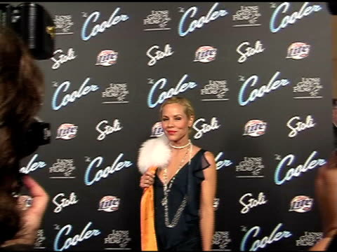 maria bello at the 'the cooler' premiere at the egyptian theatre in hollywood, california on november 24, 2003. - maria bello stock videos & royalty-free footage