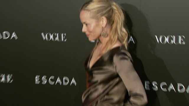 maria bello at the the grand opening of the beverly hills flagship boutique celebrated by escada hilary swank and vogue at escada in beverly hills... - escada stock videos & royalty-free footage