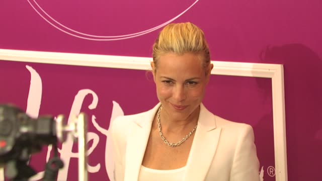maria bello at the variety's 1st annual power of women luncheon at beverly hills ca. - maria bello stock videos & royalty-free footage