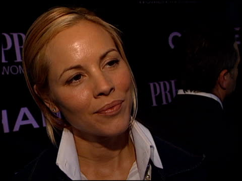 maria bello at the women in hollywood awards at the four seasons hotel in beverly hills, california on october 16, 2002. - four seasons hotel stock videos & royalty-free footage