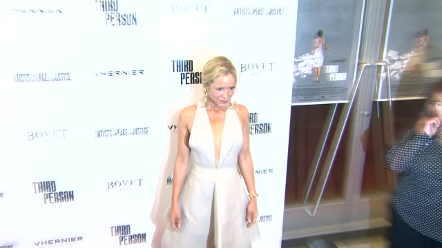 """stockvideo's en b-roll-footage met maria bello at """"third person"""" los angeles premiere at linwood dunn theater at the pickford center for motion study on june 09, 2014 in hollywood,... - maria bello"""