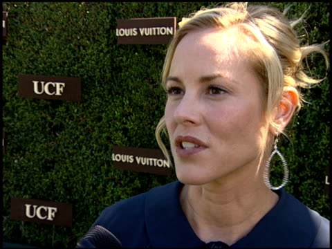 maria bello on having been affected by cancer in her family, on ucf being in the forefront of the quest for a cure for cancer, on lilly tartikoff's... - maria bello stock videos & royalty-free footage