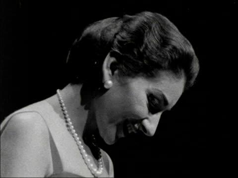 maria callas at festival hall lap maria callas at festival hall lap england royal festival hall cs maria takes bow cu bows smiles blows kisses to... - 1959 stock videos & royalty-free footage