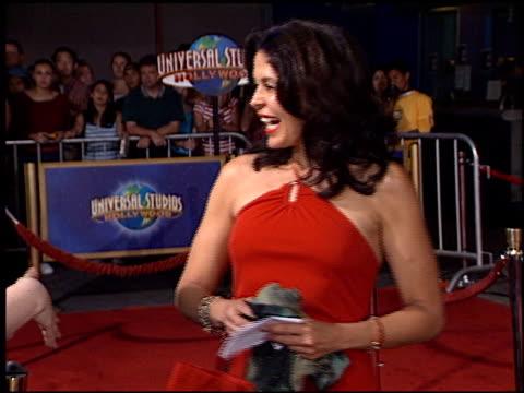 Maria Conchita Alonso at the 'Apollo 13' IMAX Premiere at Universal on September 12 2002