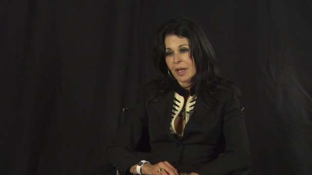 maria conchita alonso on what is the reality of the living conditions for the people of venezuela after hugo chavez came into power at the maria... - ウゴ・チャベス点の映像素材/bロール