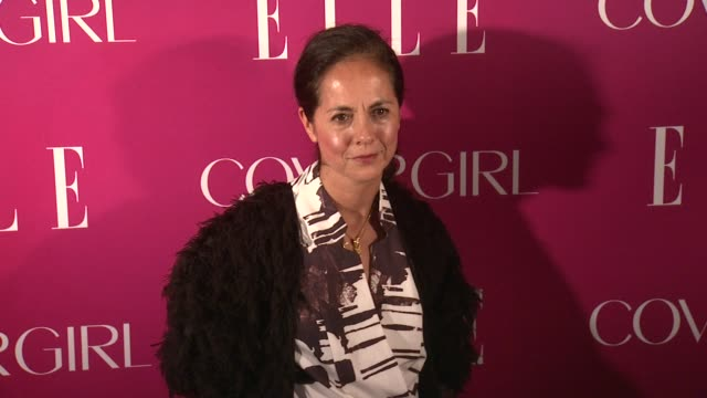 maria cornejo at 4th annual elle women in music celebration arrivals at the edison ballroom on april 10 2013 in new york new york - edison ballroom stock videos & royalty-free footage
