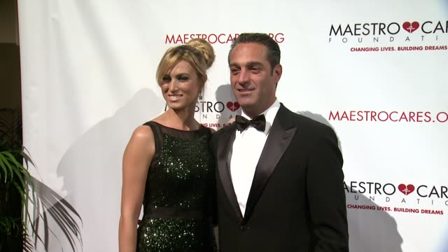 maria elena torruco and carlos slim domit at maestro cares first annual gala dinner - new york at cipriani, wall street on february 18, 2014 in new... - cipriani manhattan stock videos & royalty-free footage