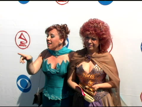 maria estela monti and guest at the 2004 latin grammy awards arrivals at the shrine auditorium in los angeles, california on september 1, 2004. - latin grammy awards stock videos & royalty-free footage